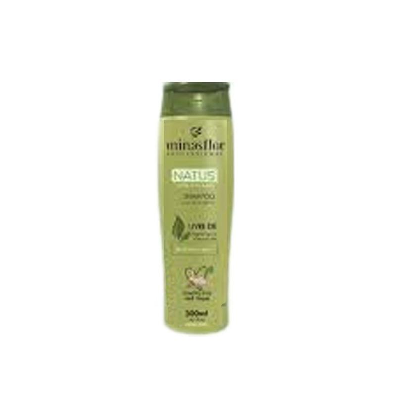 Minas Flor Profissional Natus 100% Vegano Shampoo 250ml