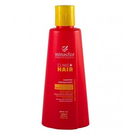 Minas Flor Shampoo Demaquilante Clinic Hair 300ml