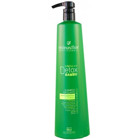 Minas Flor Shampoo Life Natural Detox Bambu 1000ml
