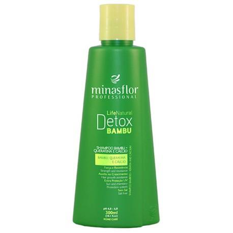 Minas Flor Shampoo Life Natural Detox Bambu 300ml