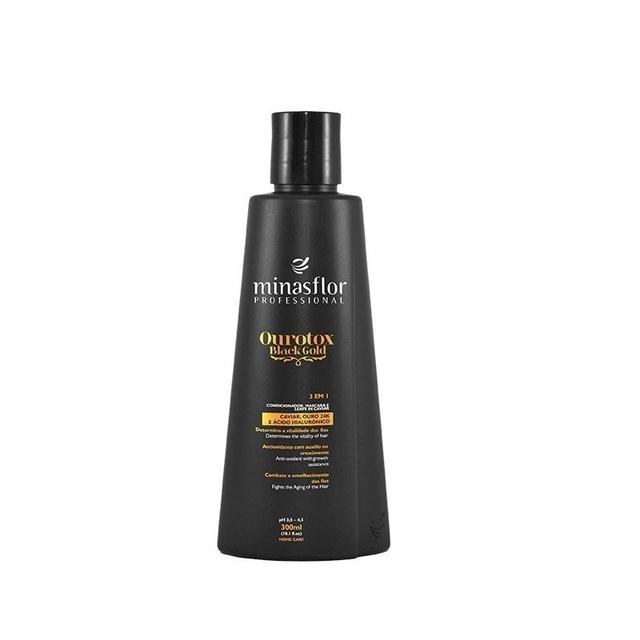 Minas Flor Shampoo Ourotox Black Gold 300ml