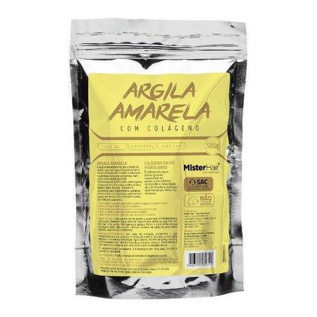Mister Hair Argila Amarela- Colageno 500g