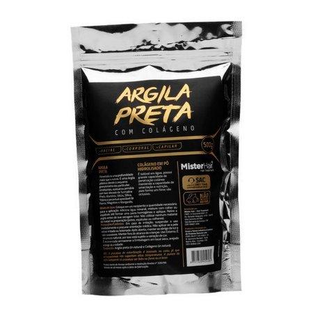 Mister Hair Argila Preta- Colageno 500g