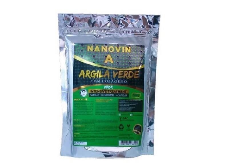 Nanovin A Argila Verde com Colageno 500g
