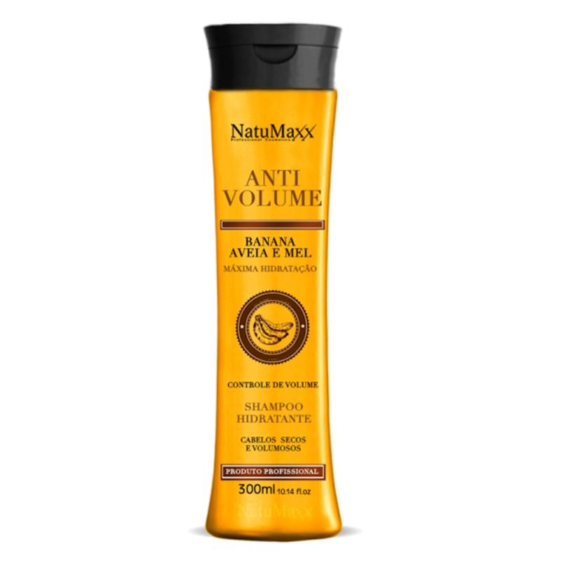 Natumaxx Anti Volume Banana, Aveia e Mel - Shampoo 300ml