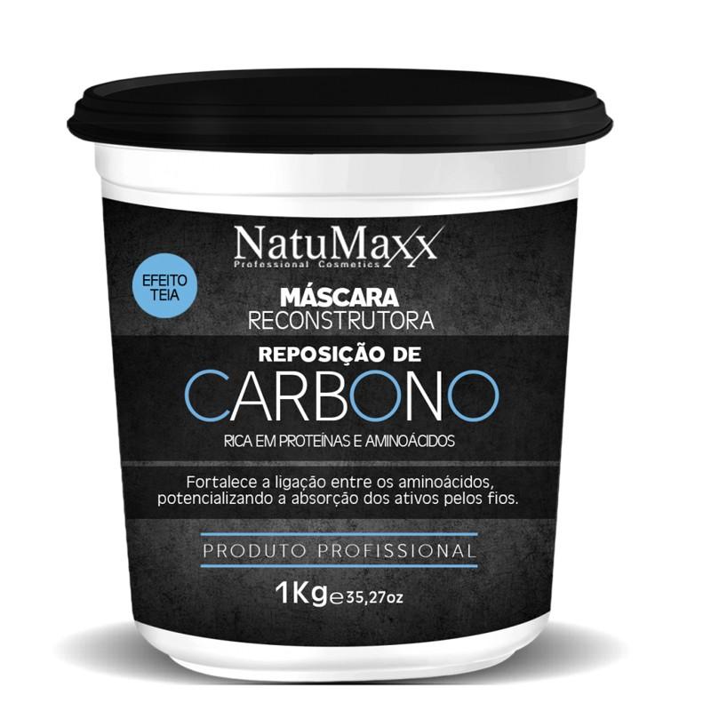 Natumaxx Reposição de Carbono - Mascara 1kg
