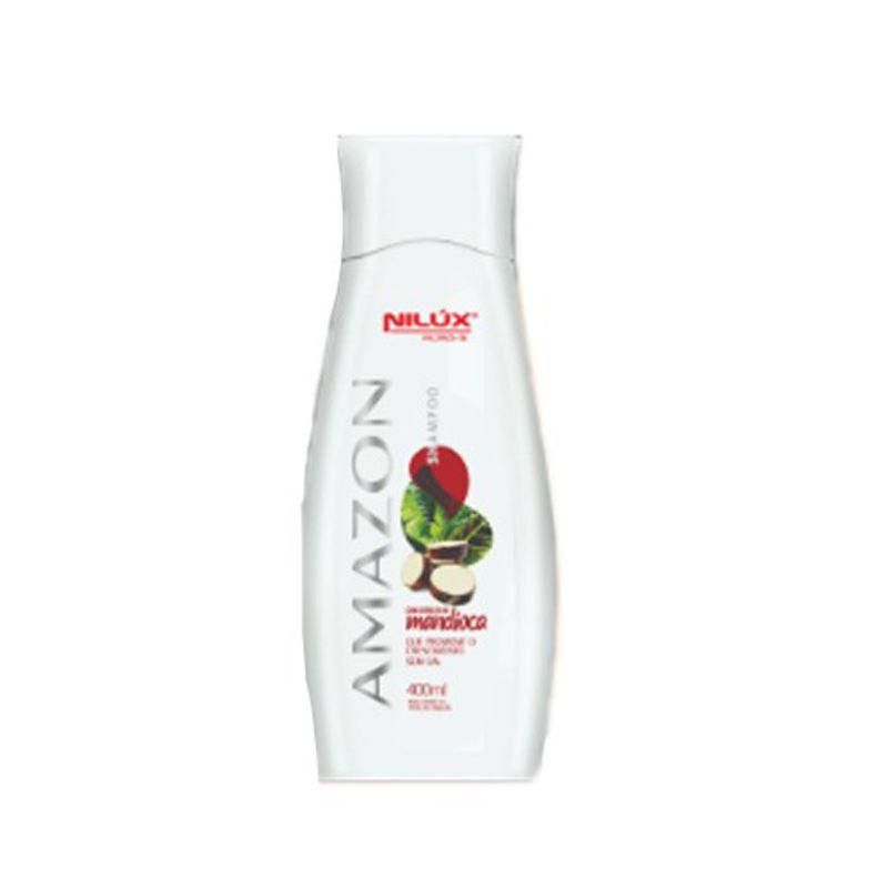 Nilux Cosmética Amazon - Shampoo Mandioca 400ml