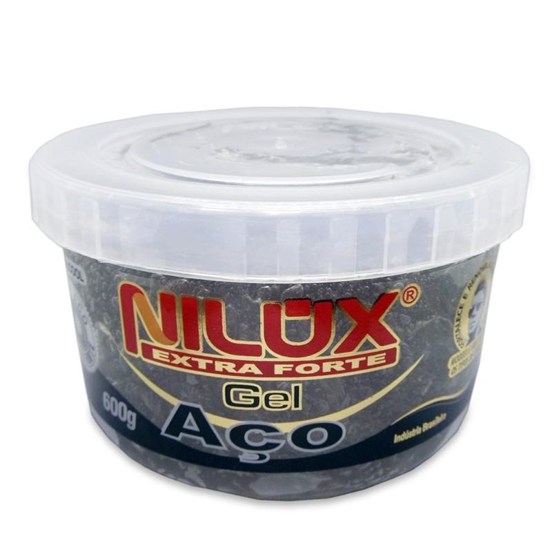 Nilux Cosmetica - Gel Aço Extra Forte 600g