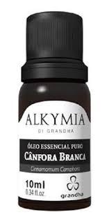 Grandha Alkymia Óleo Essencial Puro Cânfora Branca 10ml