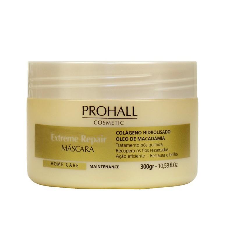 Prohall Home Care Extreme Repair - Mascara Extrato de Macadamia 300ml