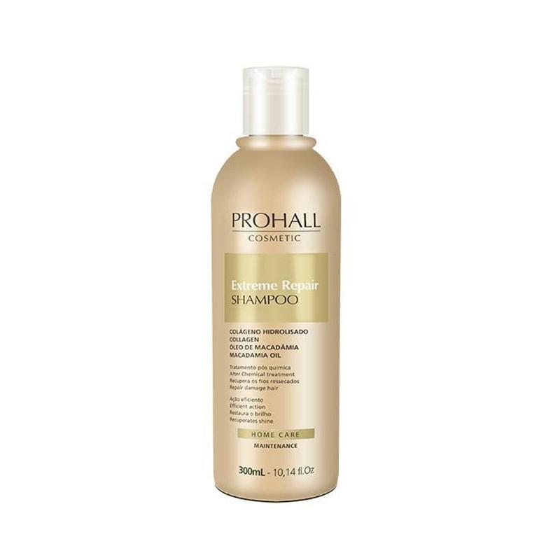 Prohall Home Care Extreme Repair - Shampoo Extrato de Macadamia 300ml
