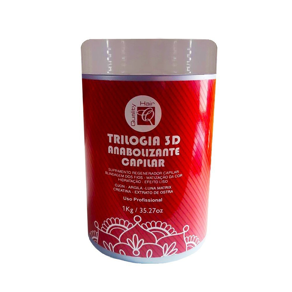 Quality Hair Máscara Regeneradora Capilar 1kg - T
