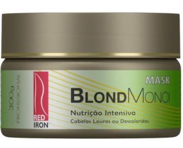 Red Iron BLOND MONOI MASK 300g - Máscara Blond Red Iron