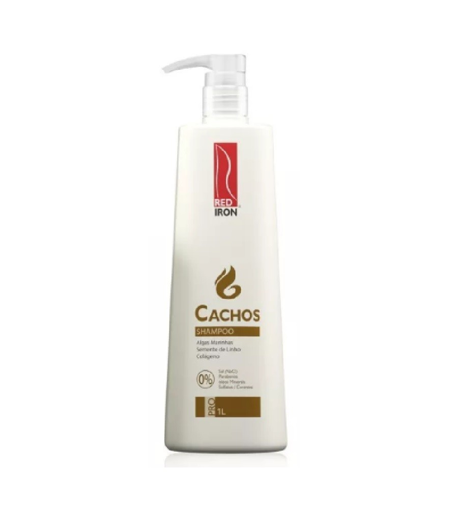 Red Iron Cachos Shampoo 1L