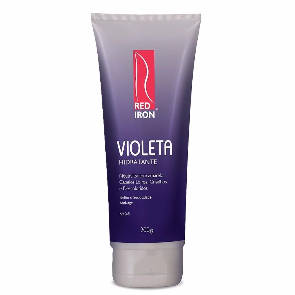 Red Iron Matizador Violeta Hidratante 200g