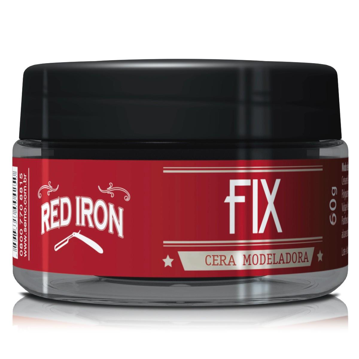Red Iron Redfix  Wax - Cera Modeladora Para Cabelos 60g