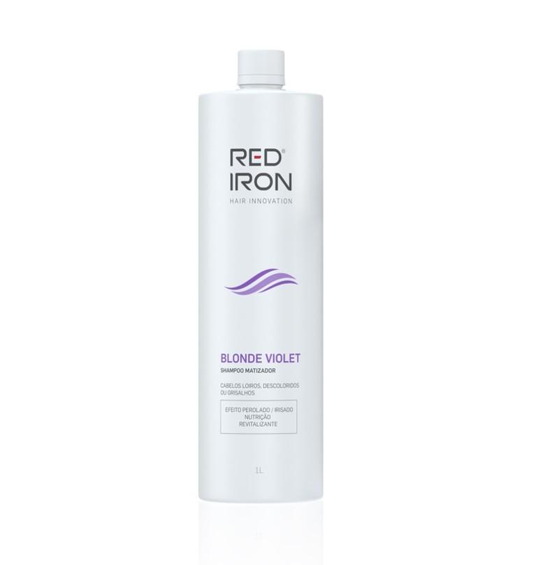Red Iron SHAMPOO BLONDE VIOLET 300ML