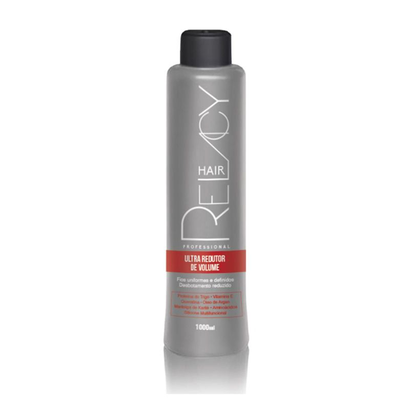 Relacy Hair Ultra Redutor de Volume - Progressiva Sem Formol 1000ml
