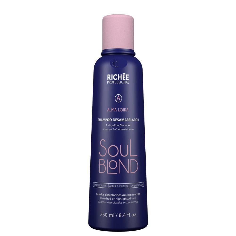 Richée Professional Soul Blond - Shampoo Desamarelador 250ml - T