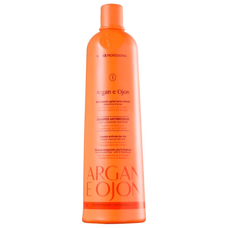 Richée Profissional Argan e Ojon Shampoo Anti-Resíduo 1L - T