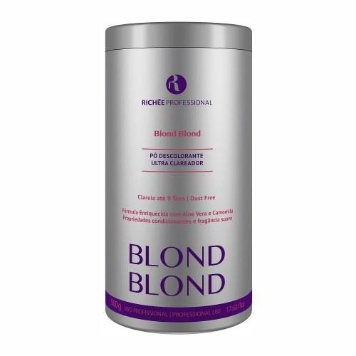 Richée Profissional Blond Blond Pó Descolorante Ultra Clareador 500gr - T