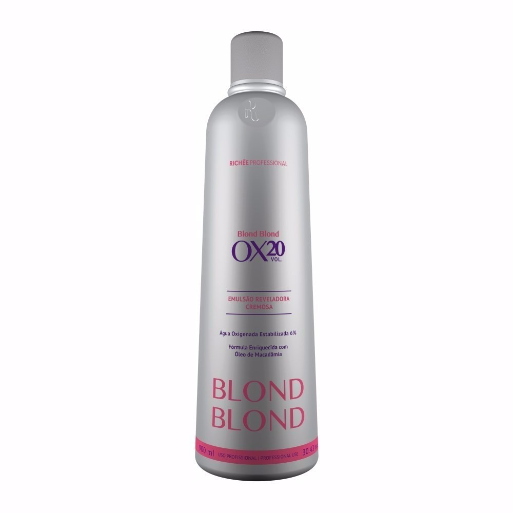 Richée Profissional Blond Emulsão Cremosa OX 20 900ml - T