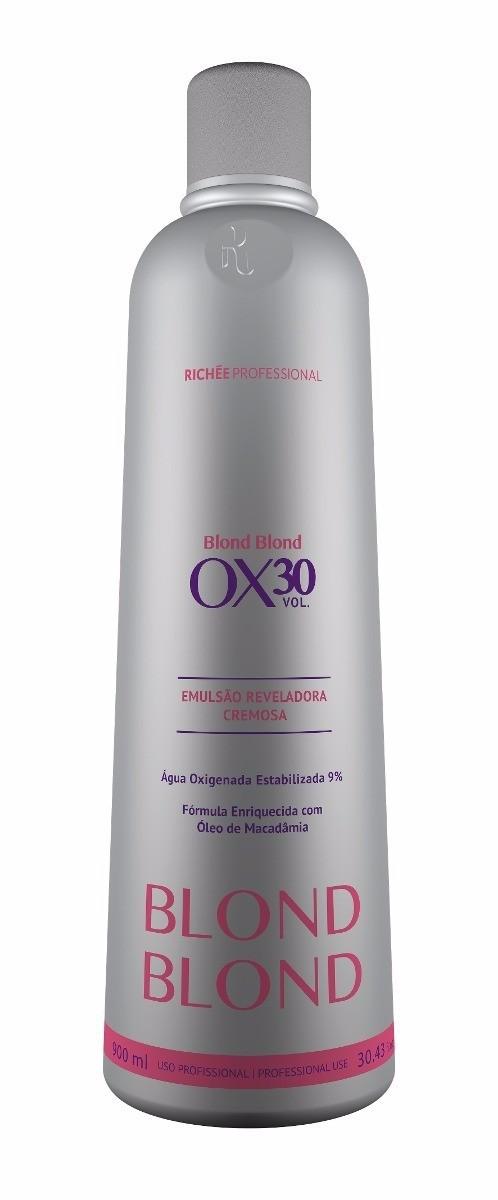 Richée Profissional Blond Emulsão Cremosa OX 30 900ml - T