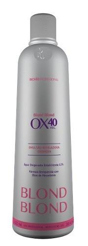 Richée Profissional Blond Emulsão Cremosa OX 40 900ml - T