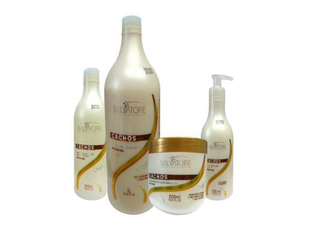 Salvatore Kit Cachos Perfeitos - 4 produtos - R