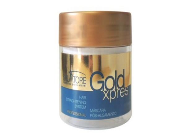 Salvatore Máscara Pós Alisamento Gold Xpres 1L - R