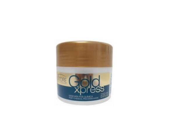 Salvatore Máscara Pós Alisamento Gold Xpress 250ml - R