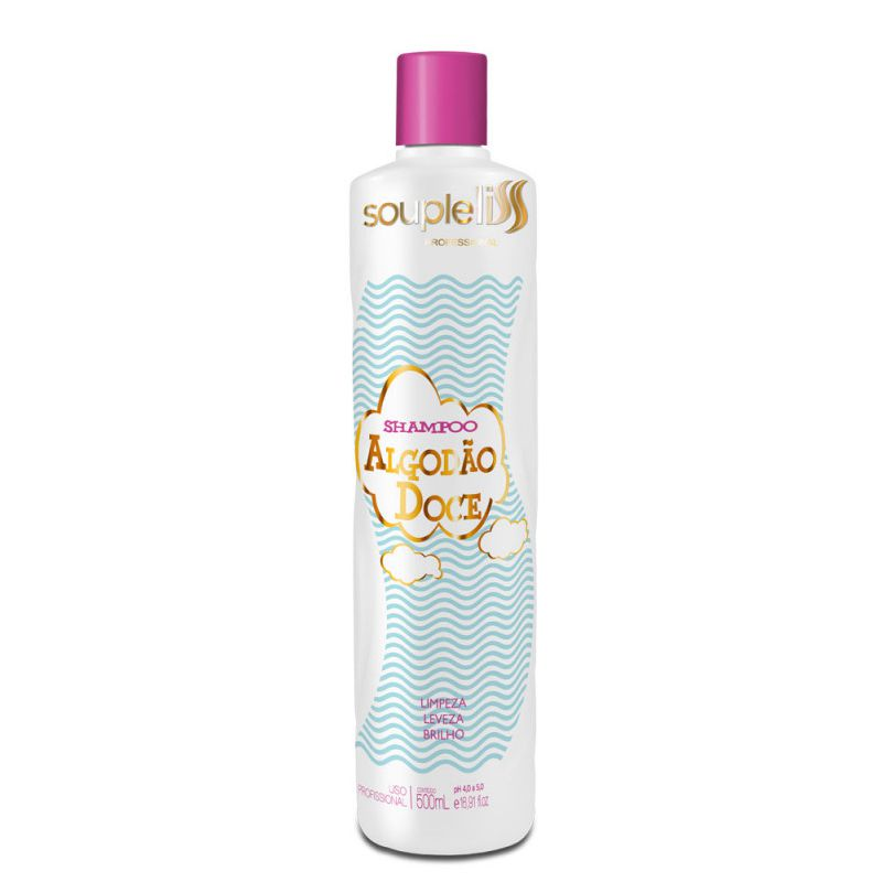 Souple Liss Algodão Doce - Shampoo 500ml - C