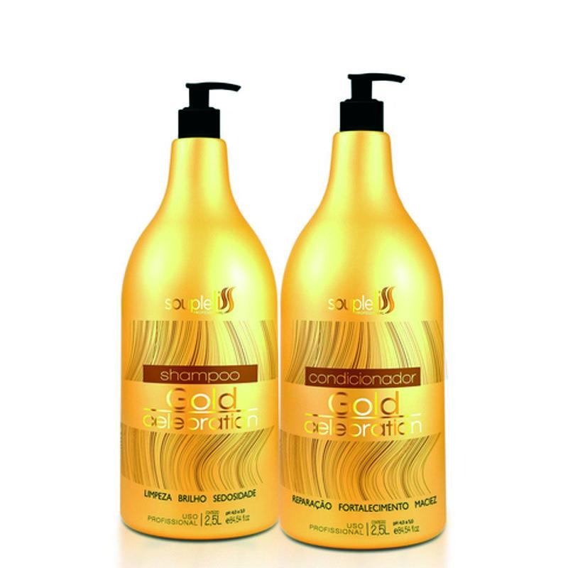 Souple Liss Celebration Kit Shampoo e Condicionador 2,5L - C