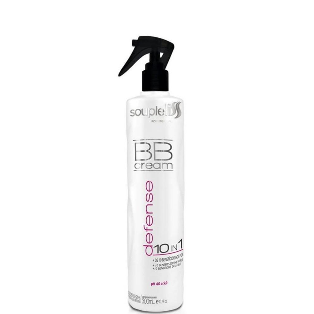 SoupleLiss BB Cream Defense 10 in 1 Protetor Térmico 300ml - T