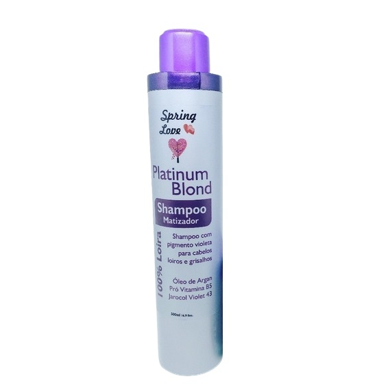 Spring Love Shampoo Platinum Blond 500g