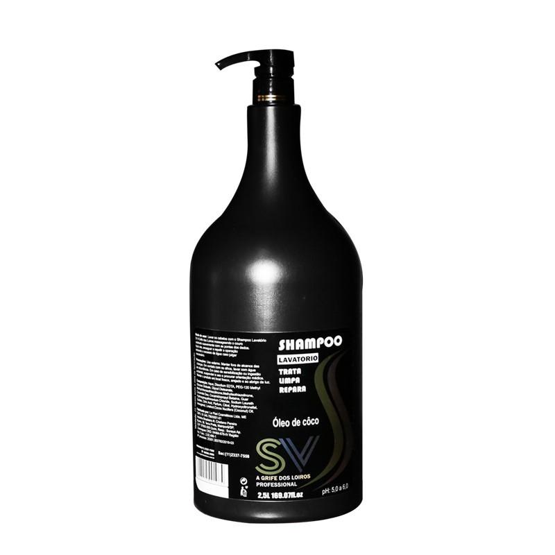 SV Professional - Shampoo Lavatório Óleo de Côco 2,5L