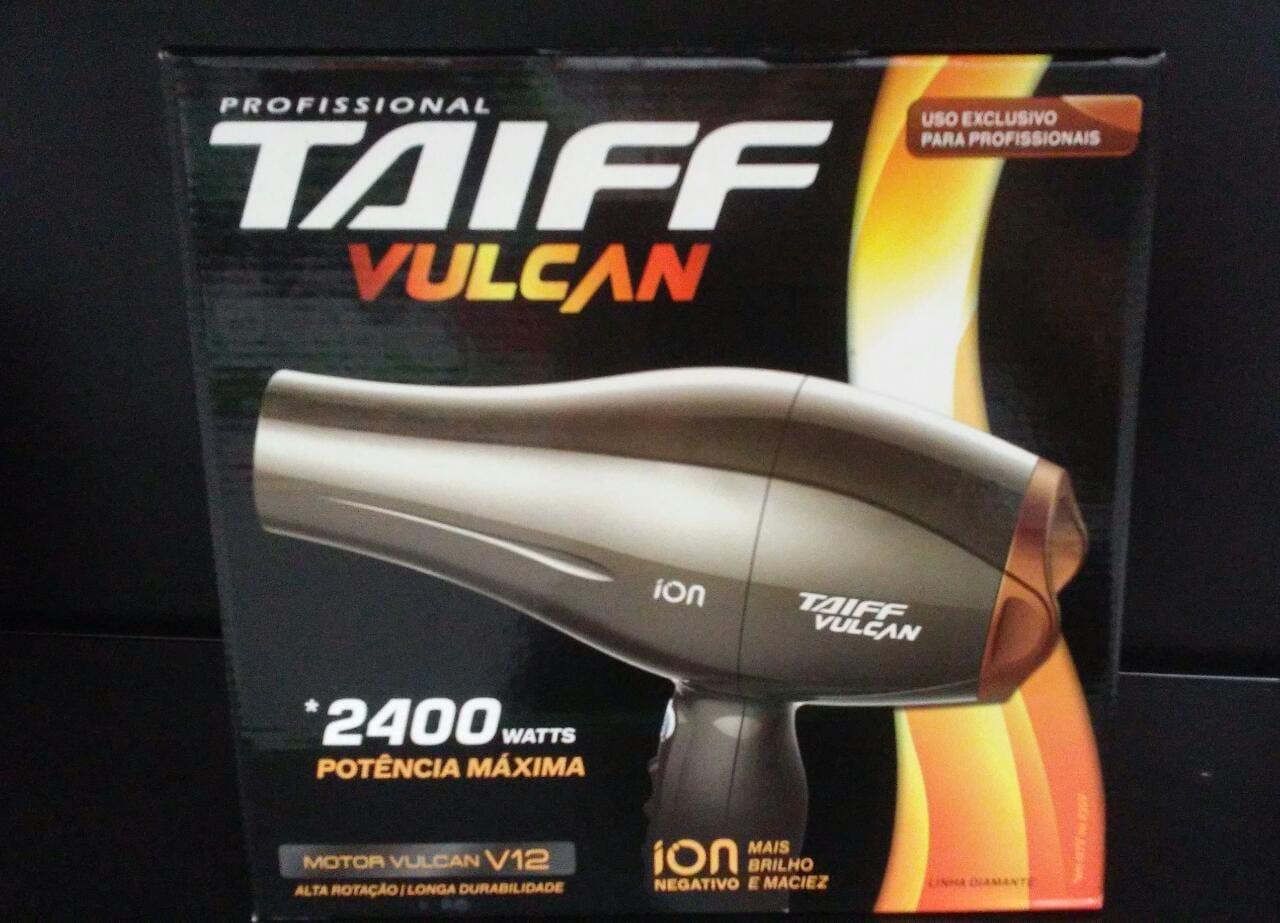 Taiff Secador Vulcan Prata 2400w - 110v - R