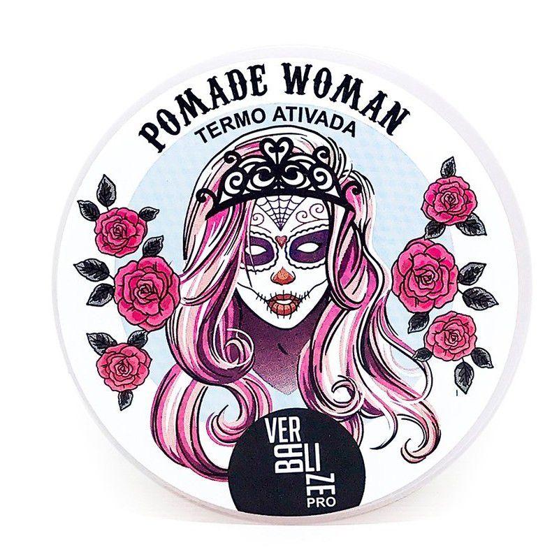 Tazin Cosméticos Pomada Modeladora Feminina Pomade Woman Termo Ativada 140g
