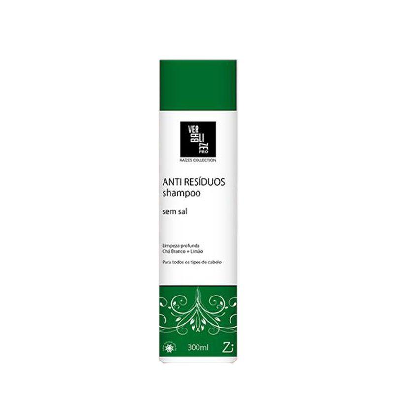 Tazin Cosméticos Shampoo Anti Resíduos Sem Sal 300ml