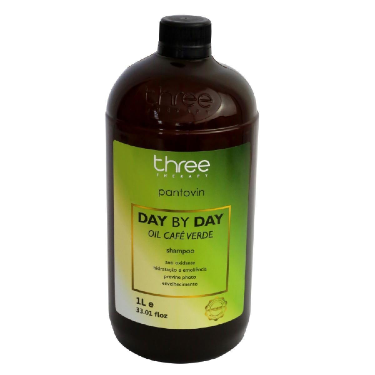 Three Therapy Café Verde Shampoo 1L
