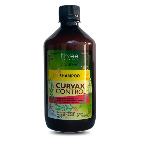 Three Therapy Curvax Control Shampoo 500ml