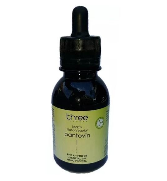 Three Therapy Pantovin Nano Vegetal Tônico 100ml - R