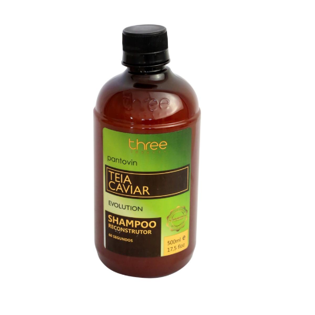 Three Therapy Shampoo Teia Caviar 500ml