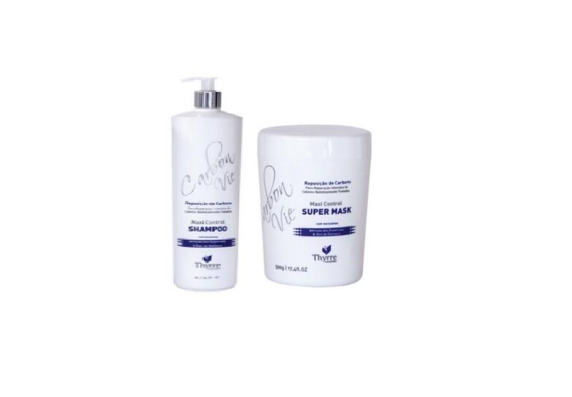 Thyrre Cosmetics Duo Repositor de Carbono Profissional