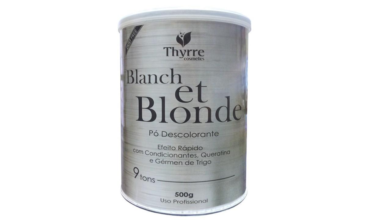 Thyrre Cosmetics Pó Descolorante Blanch et Blonde 500g
