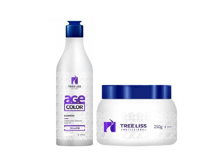 Tree Liss Kit Manutenção Blond Age Color Shampoo 300ml + Máscara 250g  - R