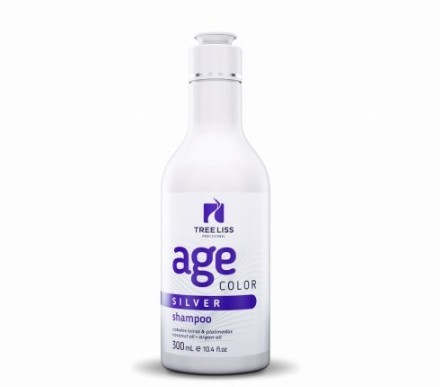 Tree Liss Silver Age Color Shampoo 300ML