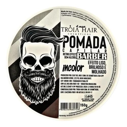 Troia Hair Pomada Incolor for Man 150g