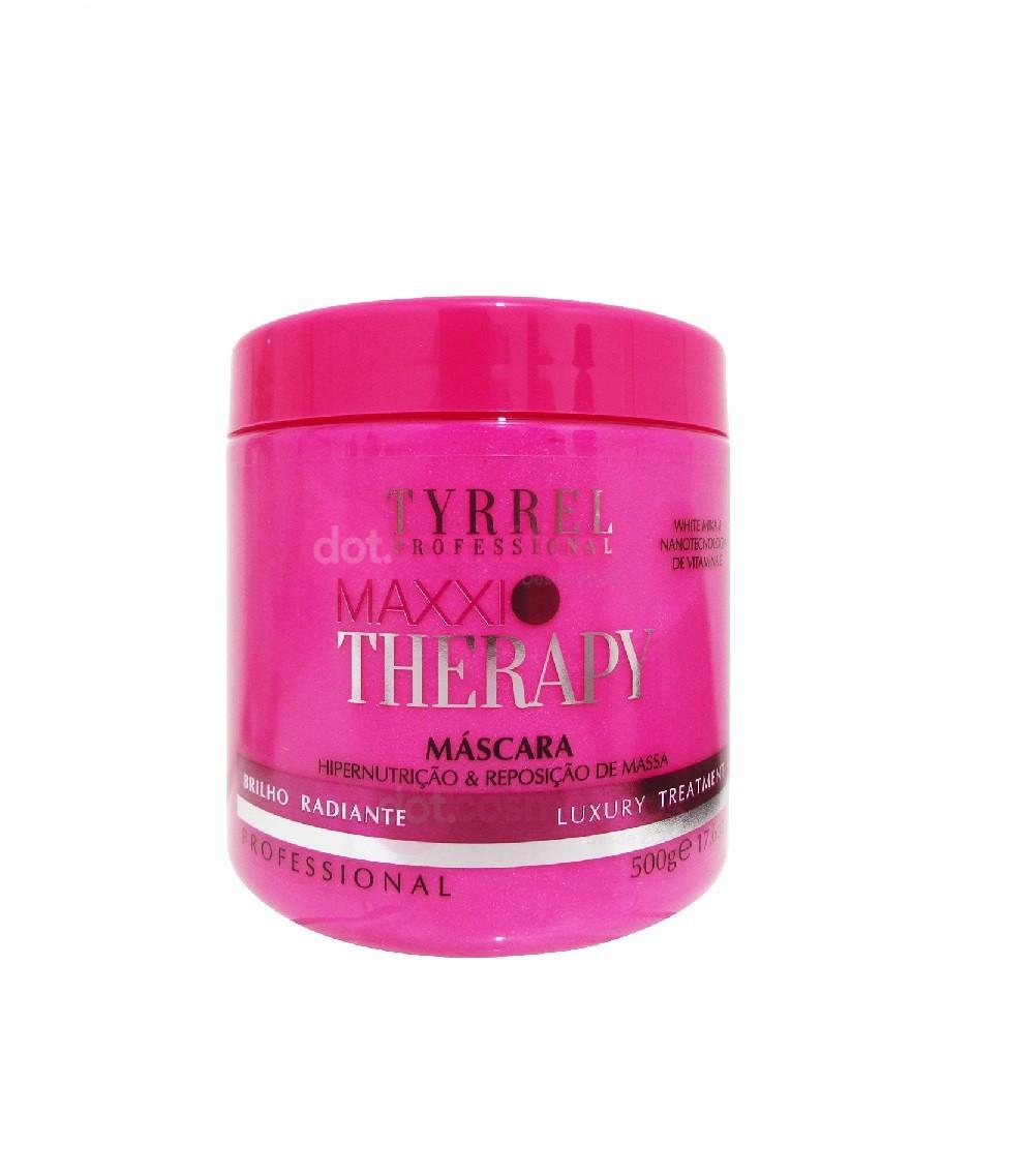 Tyrrel Maxxi Therapy Máscara Hipernutrição e Reposição de Massa 500g