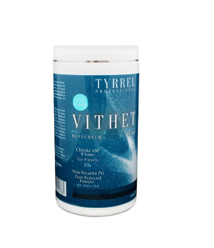 Tyrrel Pó Descolorante Especial Vithet Blue Powder 500g